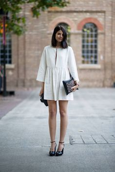 The Cut Street Style: Bright Hues at Sydney Fashion Week - Talisa Rose Sutton