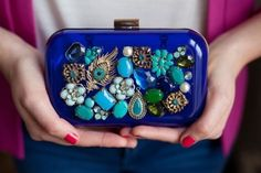 Upcycled Jewel Box Clutch | 19 Insanely Easy DIY Projects That Are Perfect For Beginners