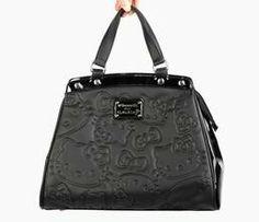 Hello Kitty black purse