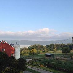 Happy September! #redbarn #vt #vermont #familyfarm