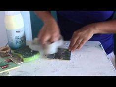 Fotos auf Holz übertragen DIY Tutorial - YouTube