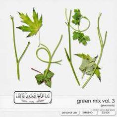 Green Mix Vol. 3 by Lara's Digi World | Digital Scrapbooking Element Packs Elements Of Art, Site Design, Digital Scrapbooking, Digital Art, Studio, Commercial, World, Green, Photography