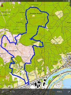 """Rheden: Posbank en Onzalige Bossen 16 km. 30 april 2014. Gratis routebeschrijving en GPS track: Klik op """"Bezoeken"""""""
