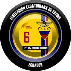 DNZ Football Buttons: Seleção do Equador
