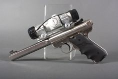Ruger Mark II competition target pistol. .22 cal.