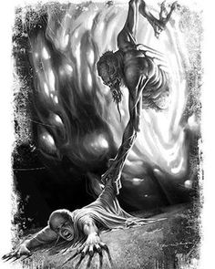"""illustrated by ªRU-MOR for Osprey Dark series. """"Cthulhu Campaigns: Ancient Rome"""" book"""
