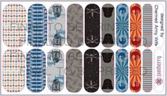 These Star Wars-inspired NAS have been approved by Jamberry marketing (October 7, 2014).To place an order for these wraps, please contact me at charmedarmywife@gmail.com #Jamberry #jn #jamberrynails #StarWars #DarkSide #Force #Jedi #nailartstudio #NAS #R2D2 #DarthVader #Disney