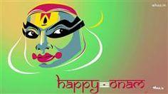 Happy Onam Painting HD Wallpaper,Greetings HD Wallpaper And Images,Kerala Festival Onam HD Wallpaper,Onam Greetings Card HD Wallpaper