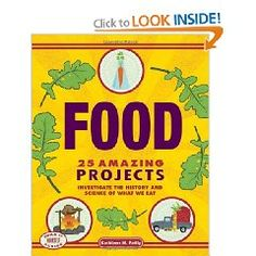From ancient times to the future of food investigate the science, history, and culture behind what we eat. Book is written in a chapter workbook style with each chapter is followed by at least one activity. This title goes beyond the basics of the food pyramid and encourages kids to understand their daily food intake from both commerical and local growers. This is a fascinating title about food and what we eat.
