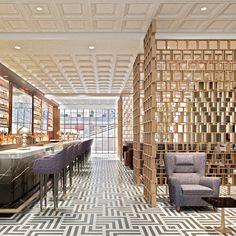 Restaurant Lounge, Downtown Los Angeles, designed by #McCARTAN... #luxury #interior #design