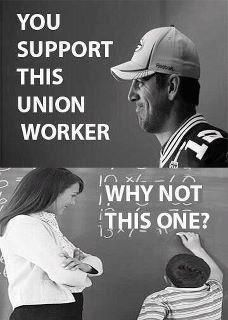exactly...why do people support sport's unions, not teacher's unions????