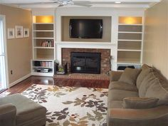 Shelving around fireplace. Nebulous Content » Non-Flammable Shelving