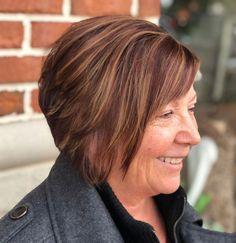 50 Wonderful Short Haircuts for Women Over 60 - Hair Adviser Short Hair Over 60, Short Hair Older Women, Short Hairstyles For Thick Hair, Short Grey Hair, Short Straight Hair, Short Hair With Layers, Short Hair Styles, Bob Hairstyles, Chin Length Haircuts