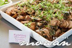Kylling marinert i balsamico og urter