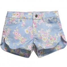 Mayoral - Baby Girls T-Shirt & Floral Shorts Set | CHILDRENSALON
