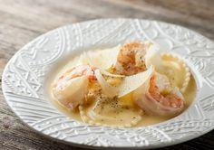 Shrimp Scampi Ravioli - two great tastes that taste great together!  :)