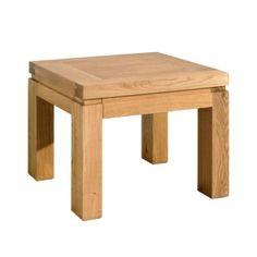 EOS Oak Lamp table