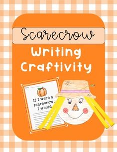 Are you looking for a November bulletin board idea? This cute scarecrow writing craftivity is exactly what you are searching for! Such a small amount of prep on your end, but guaranteed to get BIG smiles from your students!