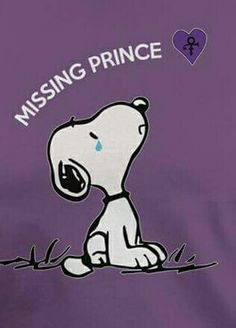 Snoopy Misses Prince👄💕