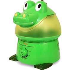 Alligator humidifier. We could call this Leatherhead to go with his TMNT theme.