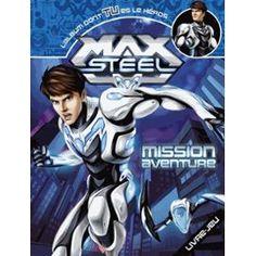 Max Steel Mission Aventure Livre Jeu Prix 9.95€ Livraison Gratuite http://www.priceminister.com/offer?action=desc&aid=2110357953&productid=277684466