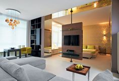 Удобное студио из двухкомнатное квартиры