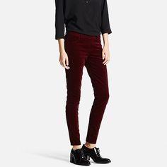 WOMEN Corduroy Legging Trousers-UNIQLOUKOnlinefashionstore