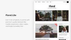 15+ Free Minimalist WordPress Themes and Templates for Blogs of 2020 Minimalist Wordpress Themes, Mobile Responsive, Beautiful Sunset, Wordpress Free, Things To Come, Templates, Blog, Stencils, Vorlage