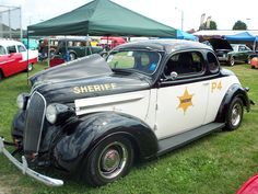 Old Police Car.  Photo by Frederick Meekins