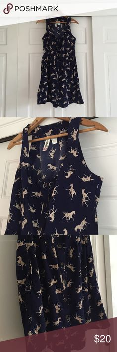 "Equestrian Dress Size large, 33"" in length, buttons down front Dresses"