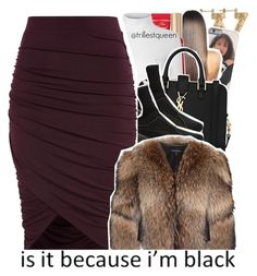 """""""01-03-2017."""" by trillestqueen ❤ liked on Polyvore featuring Too Faced Cosmetics, Glamorous, Yves Saint Laurent, Puma and Adrienne Landau"""