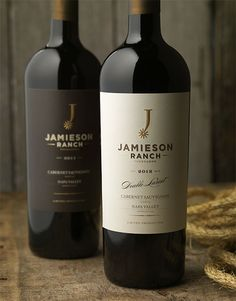 ....it's my middle name & we all know I love wine! Jamieson Ranch Vineyards Wine.