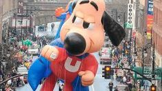 Underdog Balloon at the Macy's Thanksgiving Parade Macys Thanksgiving Parade, Vintage Cartoon, Mickey Mouse, Disney Characters, Fictional Characters, Balloons, History, Kids, Young Children