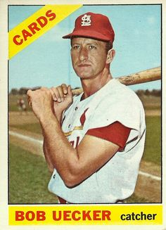 Bob Uecker played for the St. Louis Cardinals in He won a World Series with the team in Bob also played with the Braves and Phillies before his 6 year career ended in St Louis Baseball, St Louis Cardinals Baseball, Stl Cardinals, Baseball Photos, Baseball Cards, Cardinals Players, Swing, Better Baseball, Baseball Stuff