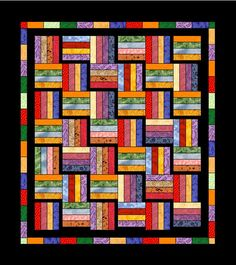 Quilt | Rail fence, Blue quilts and Fences : rail fence quilt pattern - Adamdwight.com