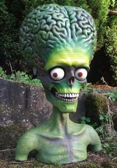 Mars attacks figura cabeza