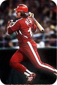Pete Rose Philadelphia Phillies (red uniform) (1979)
