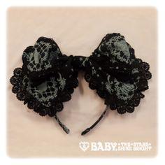 Baby, the stars shine bright BABY Princess Ornament ribbon head bow