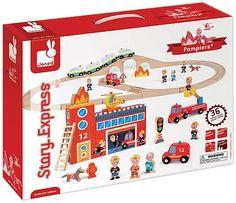 Janod Story Express Firefighters | Oppenheim Toy Portfolio