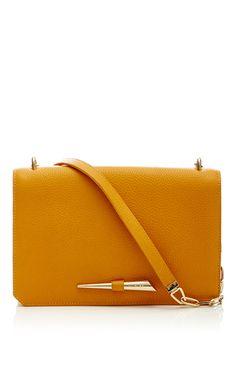 8d5ed3fd39d9 Pebbled Calf Leather Starla Bag by MUGLER for Preorder on Moda Operandi  Clutch Bag
