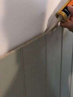 Add a decorative element to your bedroom for minimal cost with this DIY wall panel bedhead tutorial! Cladding Panels, Wall Cladding, Timber Panelling, Wall Panelling, Wall Panel Design, Feature Wall Bedroom, Focal Wall, Reno, Bed Head