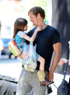 SEXY Alexander Skarsgard with Onata Aprile in 'What Maisie Knew'. A impressive drama that gives you emotional punch. Read my review about this movie in www.mypassionplay.blogspot.com #blog #movie #review