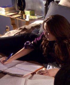 Blair Waldorf study style ~ season 1 Gossip Girl