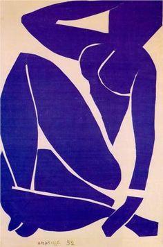 Blue Nude III  - Henri Matisse