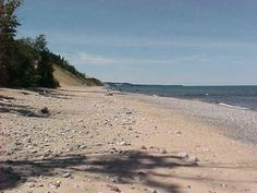 Shoreline of Lake Superior by Sable Falls, Grand Marais Michigan. Grand Marais Michigan, Pictures Of Michigan, State Of Michigan, Upper Peninsula, Lake Superior, Great Lakes, Vacation Spots, Places Ive Been, Places To Visit