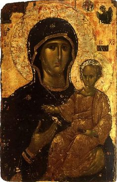 Byzantine iconography of Virgin Mary other of God Byzantine Icons, Byzantine Art, Catholic Art, Religious Art, Russian Icons, Roman Art, Orthodox Icons, Sacred Art, Renaissance Art