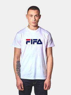1b2b63f63791 FIFA Fila Logo Parody T Shirt - Streetwear Outfits | Agilenthawking.com