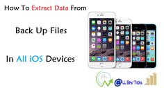 How To Extract Data From Backup Files - Vibosoft
