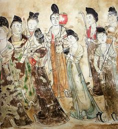 Overview of Tang Dynasty garments, fabrics, and colors for the SCA | Leah's Scribal Box