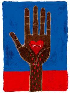 Bleeding Haiti Illustrations that… Rock! by Giulia Spanghero